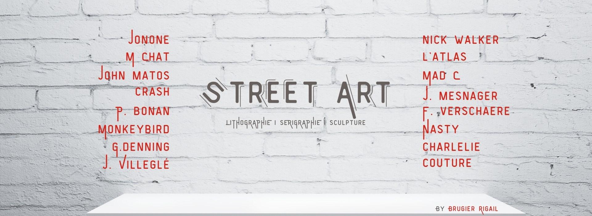 Street Art : Galerie d'art en ligne Art Urbain