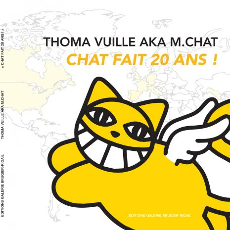 M Chat Chat Makes 20 Years Book Exhibition Street Art Gallery Online