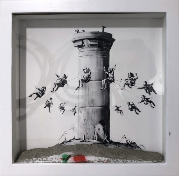 Banksy Walled Off Hotel Set Box Edition Street art Galerie d'art en ligne