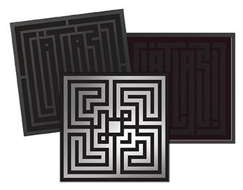 L'Atlas Enter the maze 2019 sérigraphie livre Street art galerie d'art en ligne