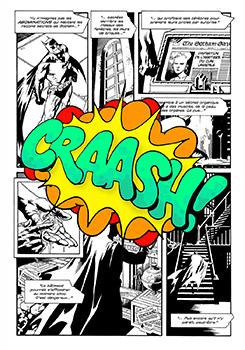 John Matos Crash Craash! Sérigraphie Street art Galerie d'art en ligne