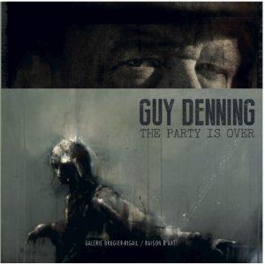 Guy Denning Livre The Party is over Exposition Street art Galerie d'art en ligne