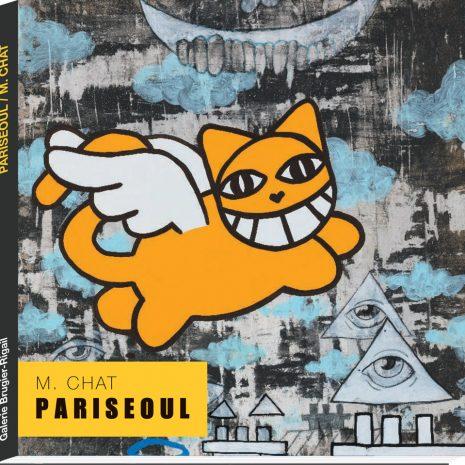 M Chat Pariseoul livre Exposition Street art Galerie d'art en ligne