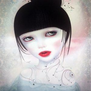 Mijn Schatje Hesperata Silkscreen Contemporary Art Gallery Online