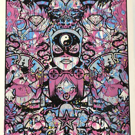 Speedy Graphito Sérigraphie HPM 16 Street art Galerie d'art en ligne
