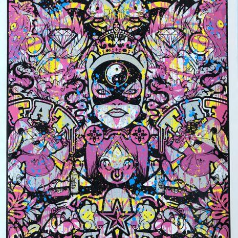 Speedy Graphito Sérigraphie HPM 17 Street art Galerie d'art en ligne