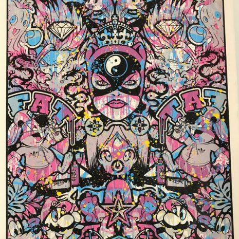Speedy Graphito Sérigraphie HPM 22 Street art Galerie d'art en ligne