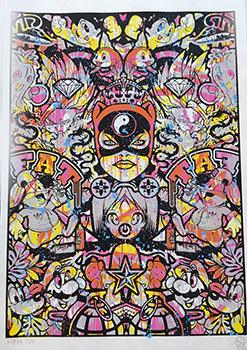 Speedy Graphito Sérigraphie HPM 23 Street art Galerie d'art en ligne