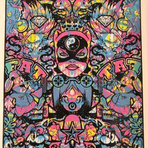Speedy Graphito Sérigraphie HPM 6 Street art Galerie d'art en ligne