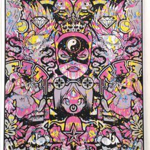 Speedy Graphito Urban Karma HPM 2017 Sérigraphie Street Art Galerie d'art en ligne