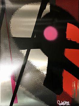 Smash137 Gust Sérigraphie sur aluminium Street art Galerie d'art en ligne