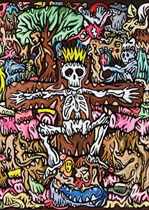 Fabien Verschaere Tirage pigmentaire Fake Faith éditions Art contemporain Galerie d'art en ligne