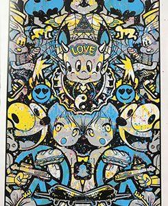 Speedy Graphito Urban Love HPM 18 Sérigraphie Street art Galerie d'art en ligne