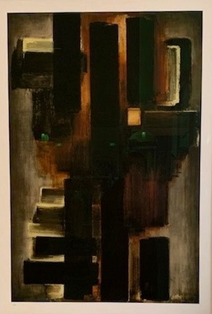 Pierre Soulages Limited Edition Contemporary Art Gallery online