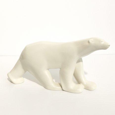Pompon Sculpture Art Moderne Edition Ours Blanc Galerie d'art en ligne SAO