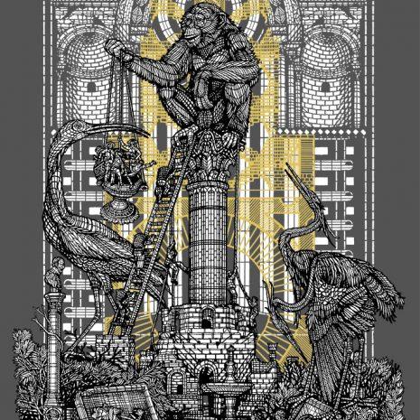 Monkeybird Simeon Silkscreen Street Art Limited Edition Art Gallery Online