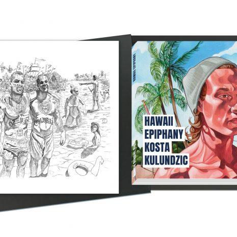 Kosta Kulundzic Coffret de luxe Edition limitée Art contemporain Galerie d'art en ligne