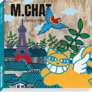 M.CHAT Livre Exposition Street art Galerie d'art en ligne