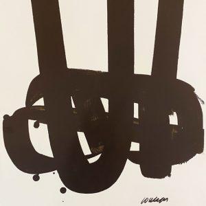 Pierre Soulages Art contemporain Edition Limitée Sérigraphie Galerie d'art en ligne