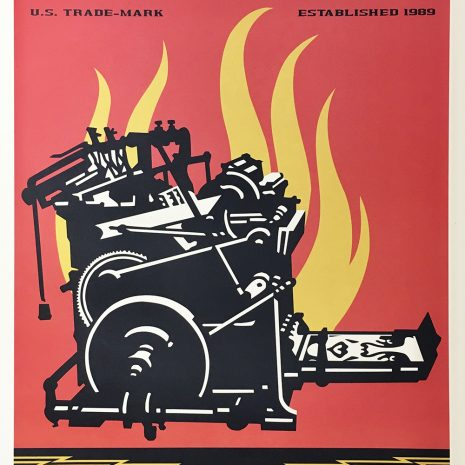 Shepard Fairey Obey Sérigraphie Obey Propaganda Street art Galerie d'art en ligne
