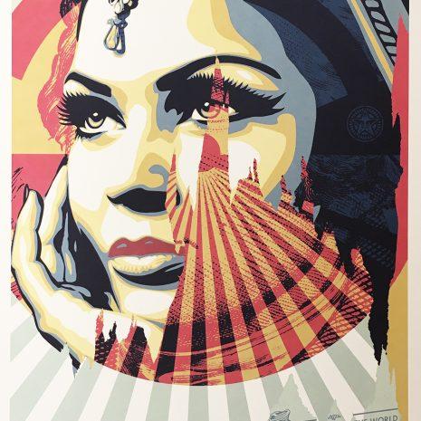 Shepard Fairey Obey Welcome Sérigraphie Street art Galerie d'art en ligne