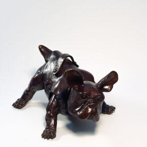 Pradel-Fraysse Baby Bull français Sculpture Art contemporain Galerie d'art en ligne