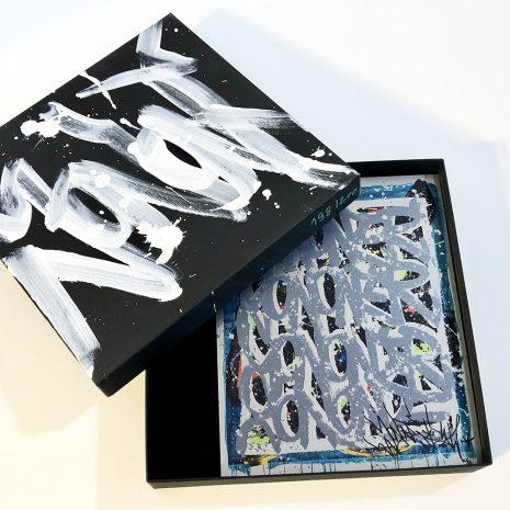 Jonone Edition limitée Street Art Birth of the wind Galerie d'art en ligne