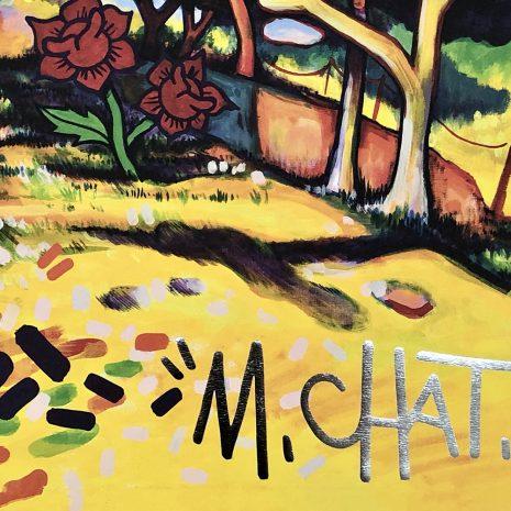 M.CHAT_Estaque-Braque 1906 édition_Tirage pigmentaire sur papier_50x70cm_200 ex._2021 Signature bd
