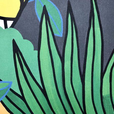 M.CHAT_Rousseau by night édition_Tirage pigmentaire sur papier_70x50cm_2021_200 ex. Numérotation bd