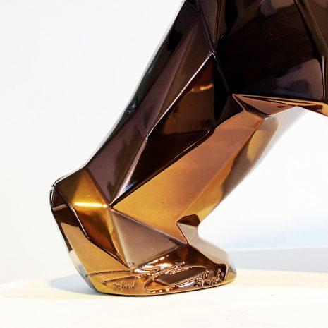Orlinski_Le choc des titans (bronze)_résine_27x45x11cm_2021 Signature 1