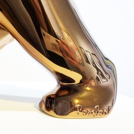 Orlinski_Le choc des titans (bronze)_résine_27x45x11cm_2021 Signature 2