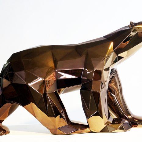 Orlinski_Le choc des titans (bronze)_résine_27x45x11cm_2021 bd