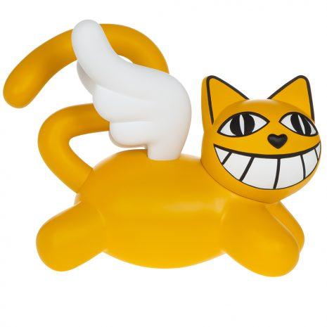 M.CHAT Little Baby Cat Sculpture résine Edition limitée Street art Galerie d'art en ligne