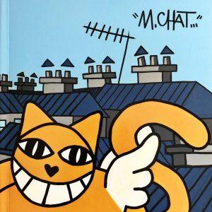 M.CHAT Escapade Catalogue exposition Street Art Galerie d'art en ligne